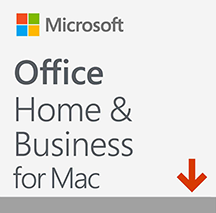 Microsoft Office Home and Business 2016 for Mac (PC2台/1ライセンス)