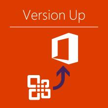 office365 versionup