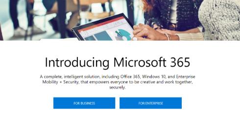 マイクロソフト、Microsoft 365 の販売を開始